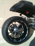 Fat/Wide tire kit Busa